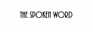 26 Feb - The Spoken Word: Marjorie Kanter, Paul Hench, and Sarah Pollard