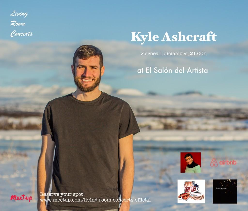 1 December - LRC presents Kyle Ashcraft at El Salon del Artista