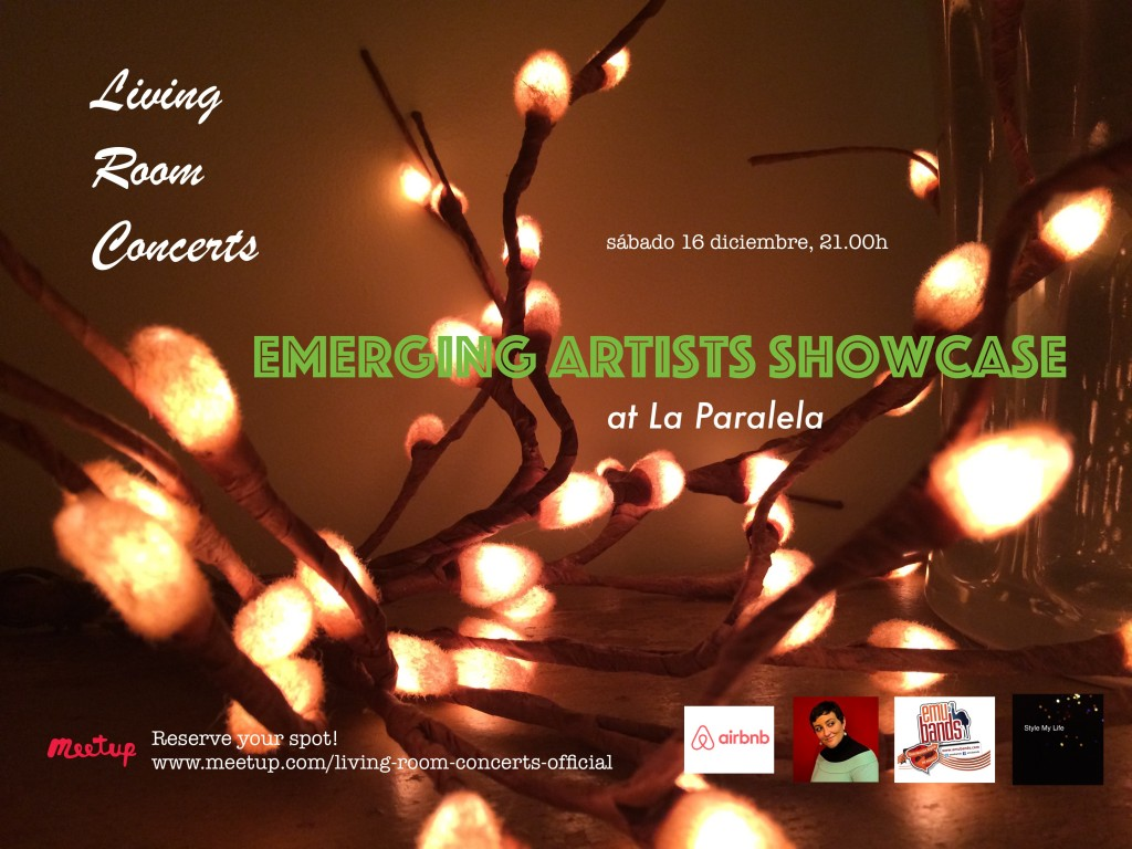 16 December - LRC presents Emerging Artists Showcase at La Paralela - Last Concert of 2017