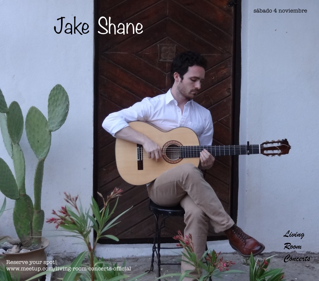 4 November - Jake Shane - Living Room Concerts