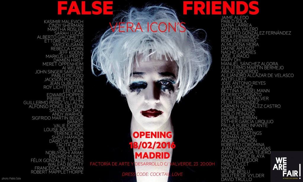 18 Feb - Vera Icon's False Friends