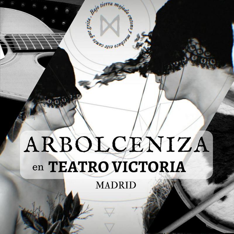 7 April - ARBOLCENIZA en Teatro Victoria