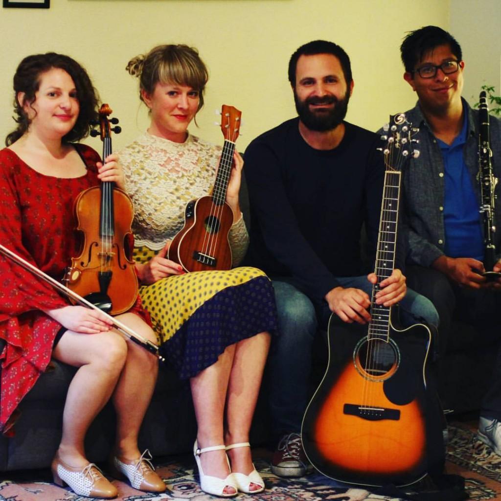 6 July - Pop-up LRC Concert: Forasteros Quartet at Rizoma
