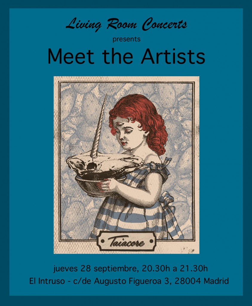 28 September - LRC presents Meet the Artists with TAIACORE