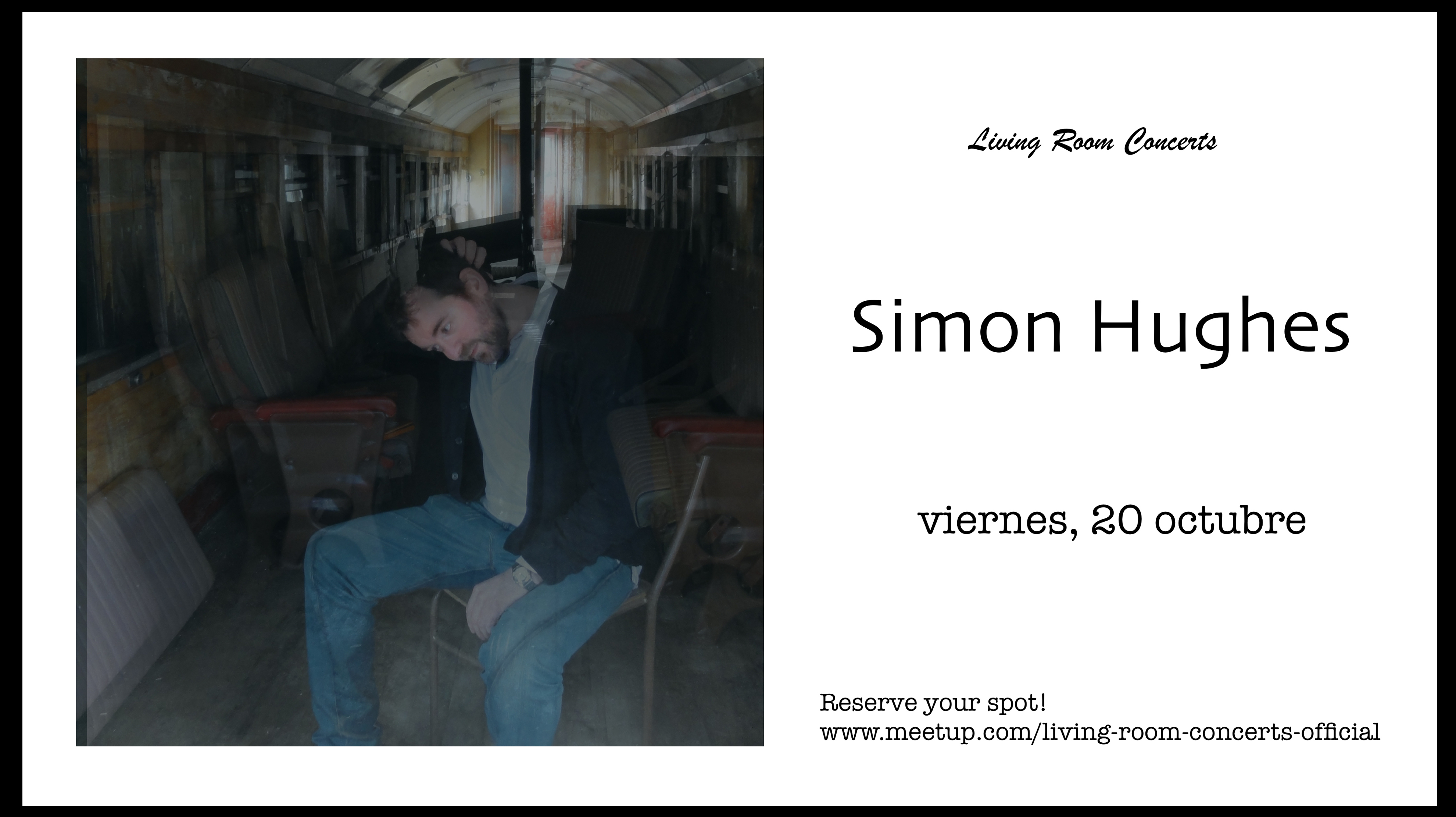 20 October - Simon Hughes - Living Room Concerts