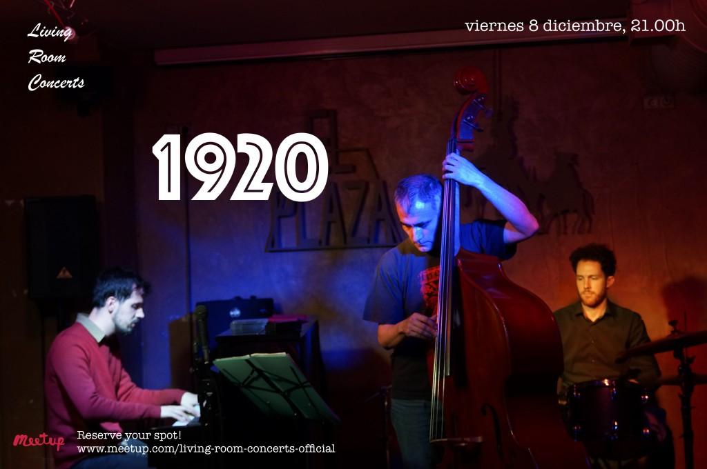 8 November - Experimental Jazz Concert: 1920 - Living Room Concerts