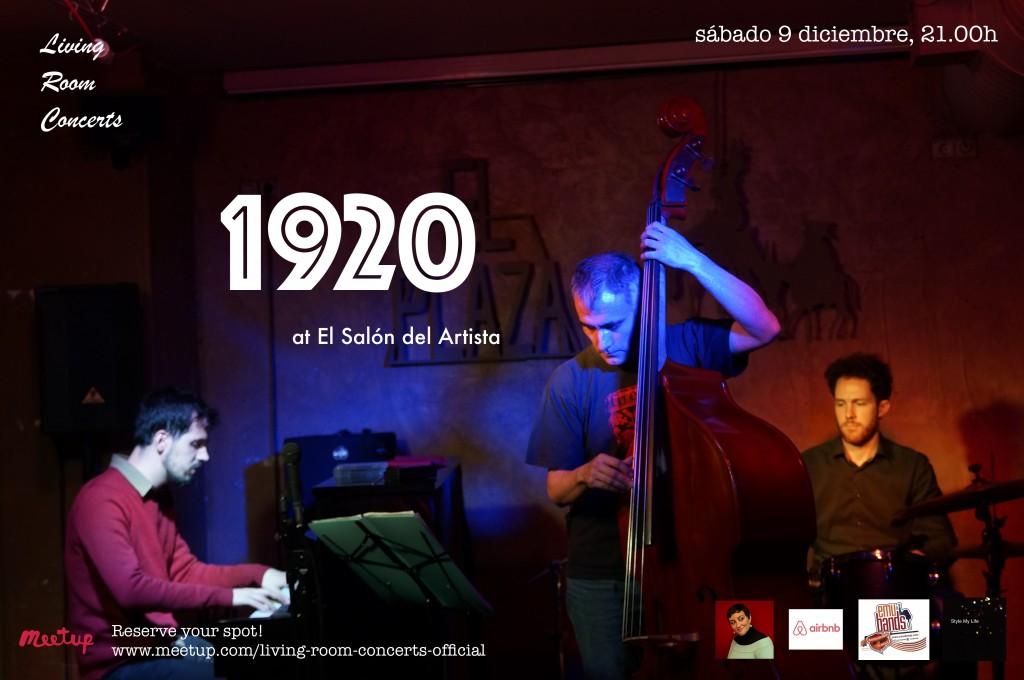 9 December - LRC presents 1920 at El Salon del Artista