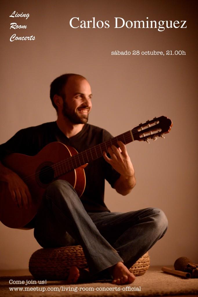 28 October - Carlos Dominguez - Living Room Concerts