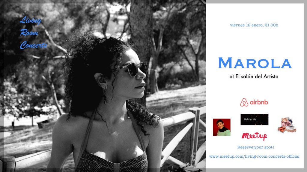 12 Jan - LRC presents Marola at El Salón del Artista