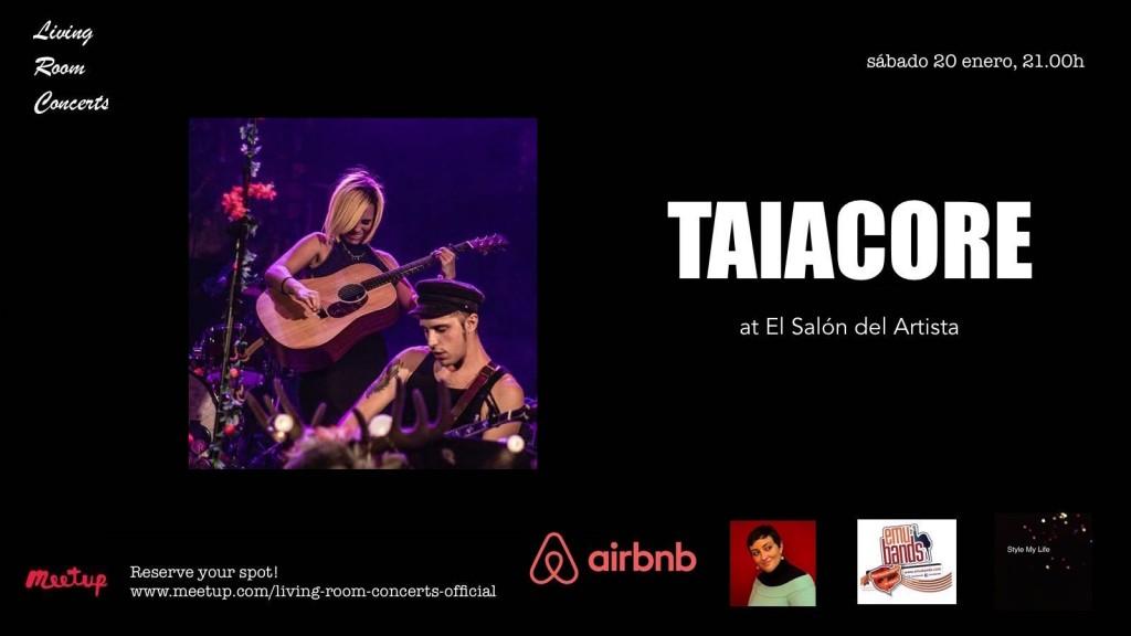 20 January - LRC presents Taiacore at El Salón del Artista