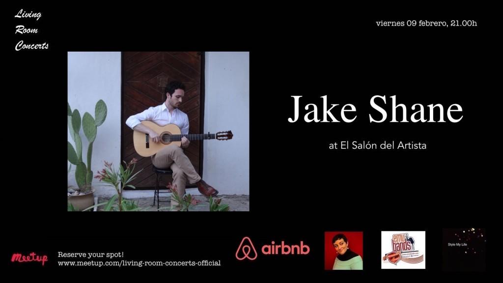 09 February - LRC presents Jake Shane at El Salón del Artista