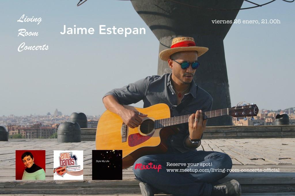 26 January - Jaime Estepan - Living Room Concerts