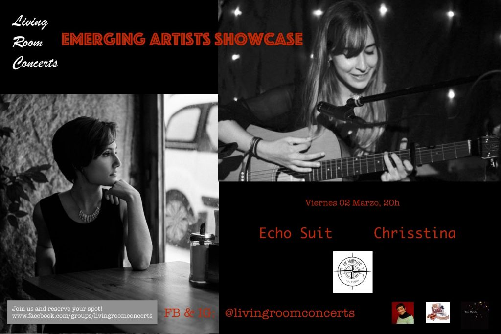 02 Mar - LRC presents Emerging Artists Showcase at The Traveller