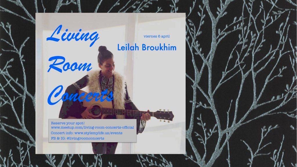 6 April - Leilah Broukhim - Living Room Concerts
