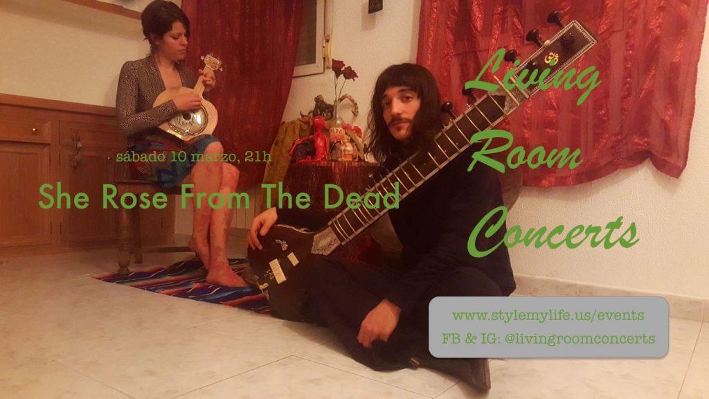 10 March - She Rose Fom The Dead Acoustic Duet at El Salón del Artista