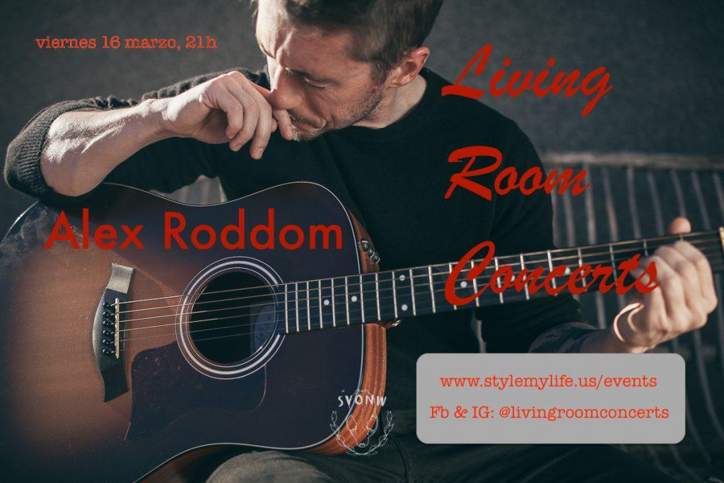 16 March - LRC presents Alex Roddom at La Paralela