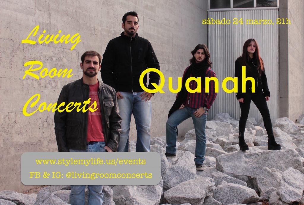 24 March - LRC presents Quanah at El Salón del Artista