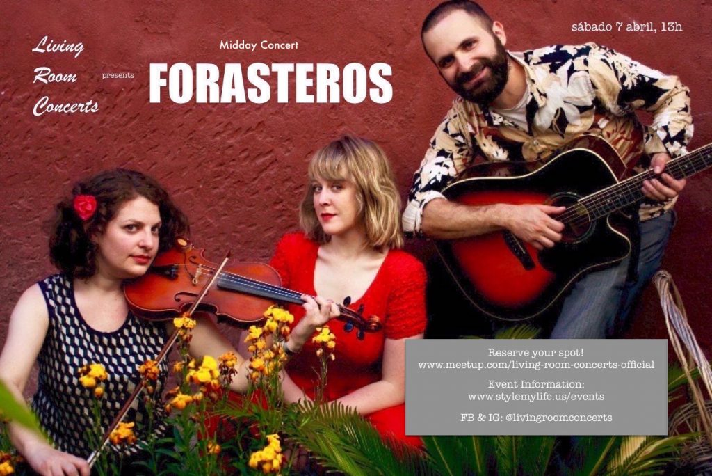 7 April - LRC presents Midday Concert with Forasteros