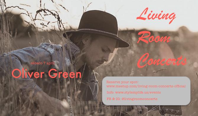 7 April - LRC presents Oliver Green