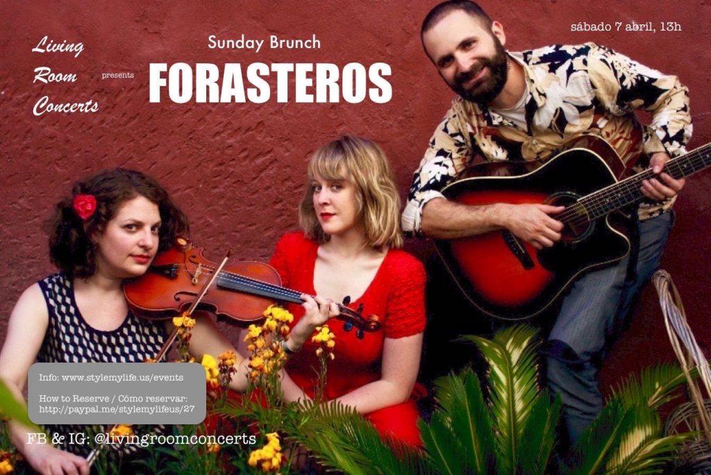 7 April - LRC presents Saturday Brunch with Forasteros Quartet