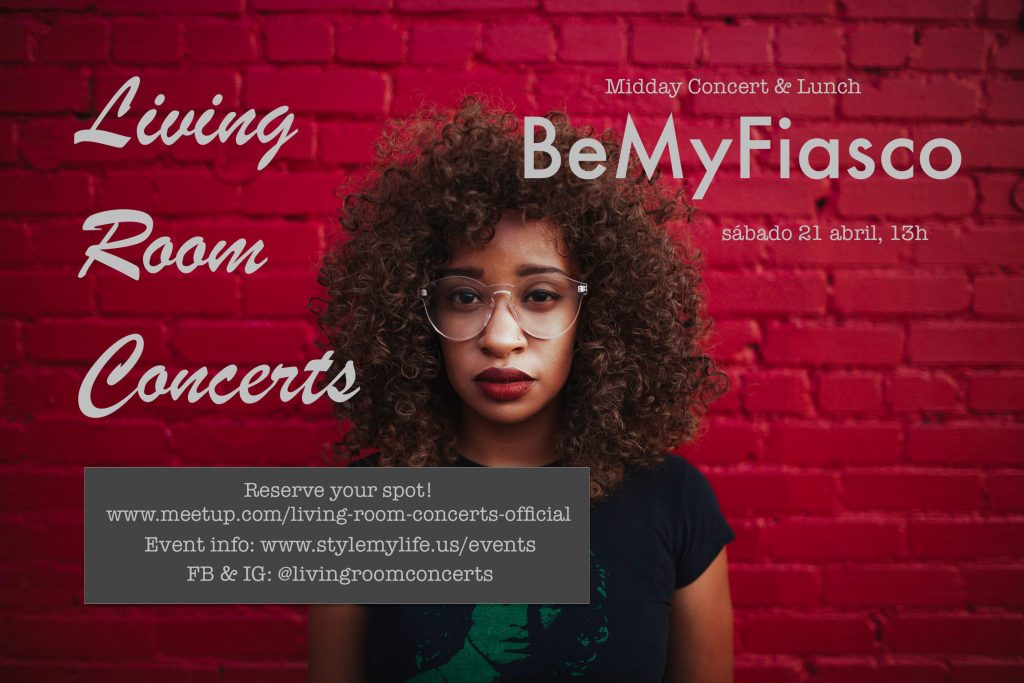 21 April - LRC presents Midday Concert & Lunch with BeMyFiasco
