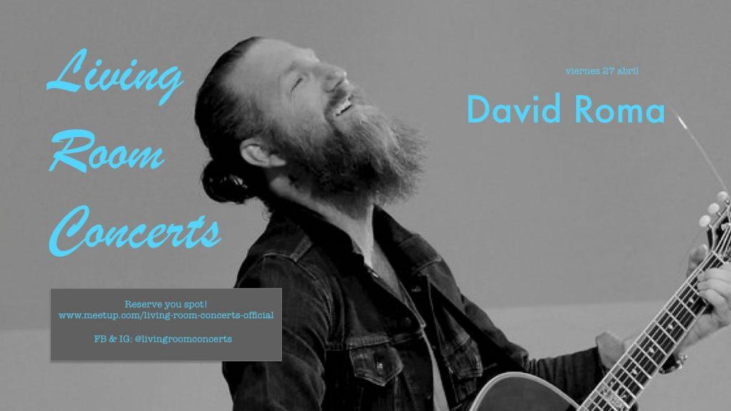 27 April - LRC presents David Roma