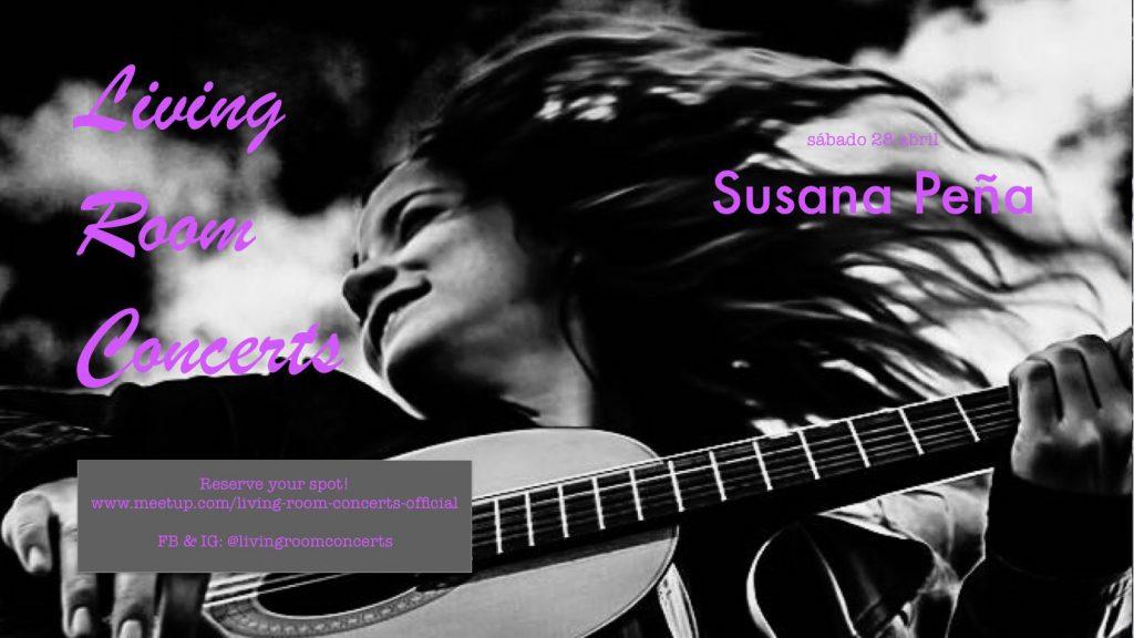 28 April - LRC presents Susana Peña